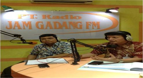 DISKUSI INTERAKTIF ON-AIR (SAMSAT DAN JASA RAHARJA BUKITTINGGI)